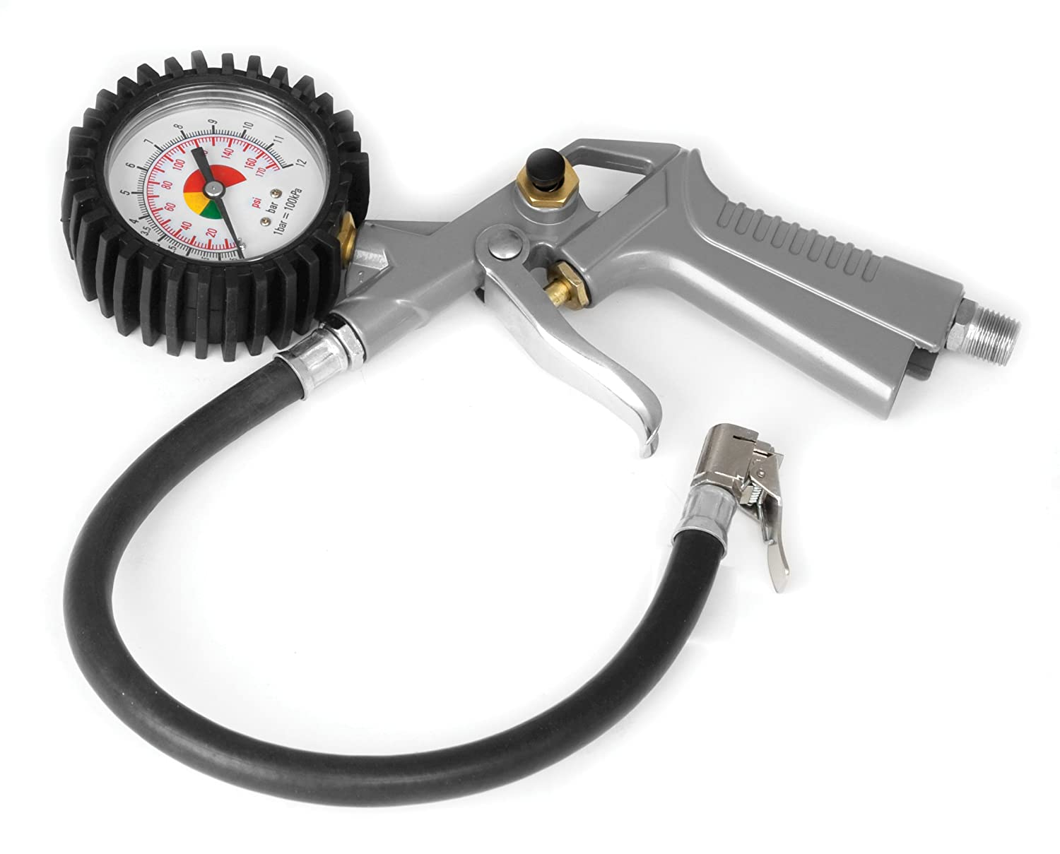 Performance Tool M521 Tire Inflator with Dial Gauge