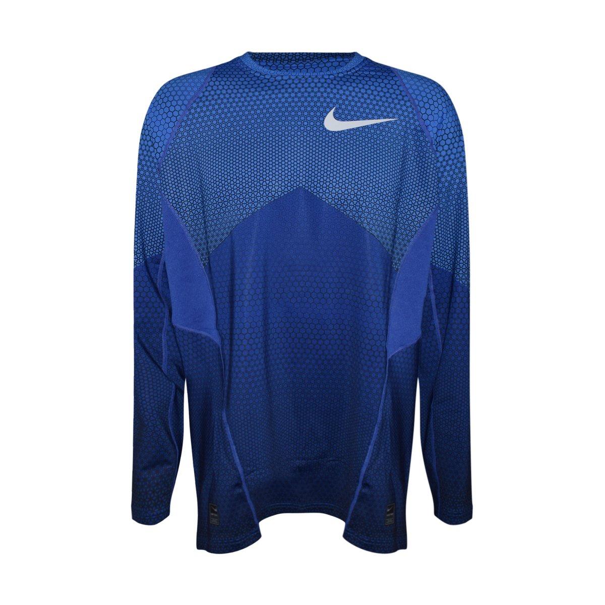 4d6f9e9f Nike Pro Combat Dri Fit Fitted Long Sleeve Shirt - DREAMWORKS