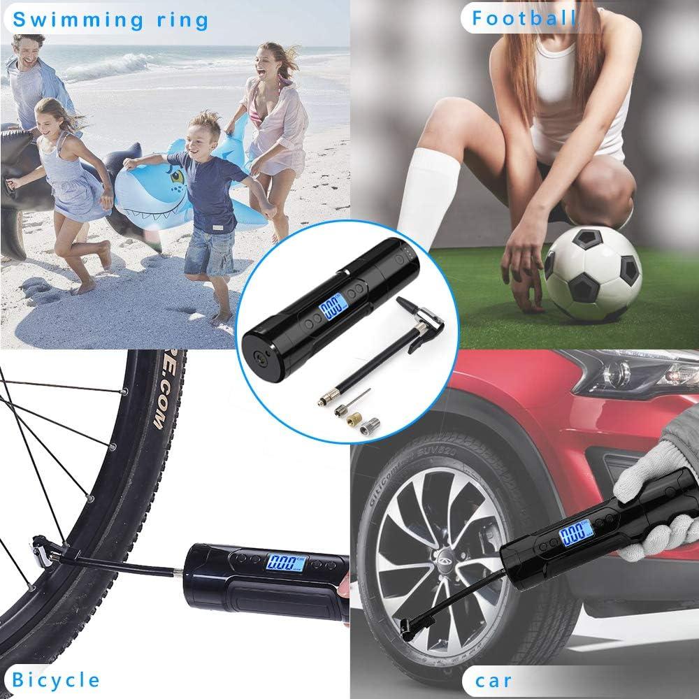 EY/_ Portable Air Pump Air USB Inflator Tool Football Basketball Bike Bicycle Aut
