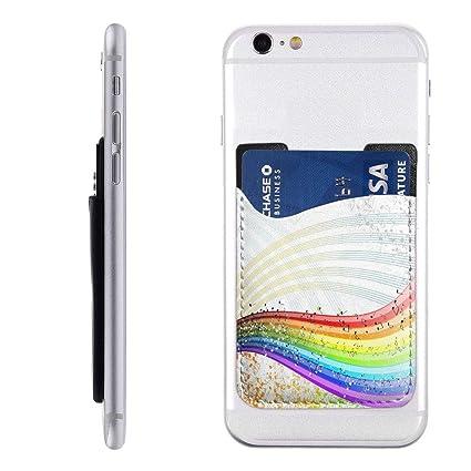 Amazon.com: Monedero para teléfono móvil con diseño de notas ...