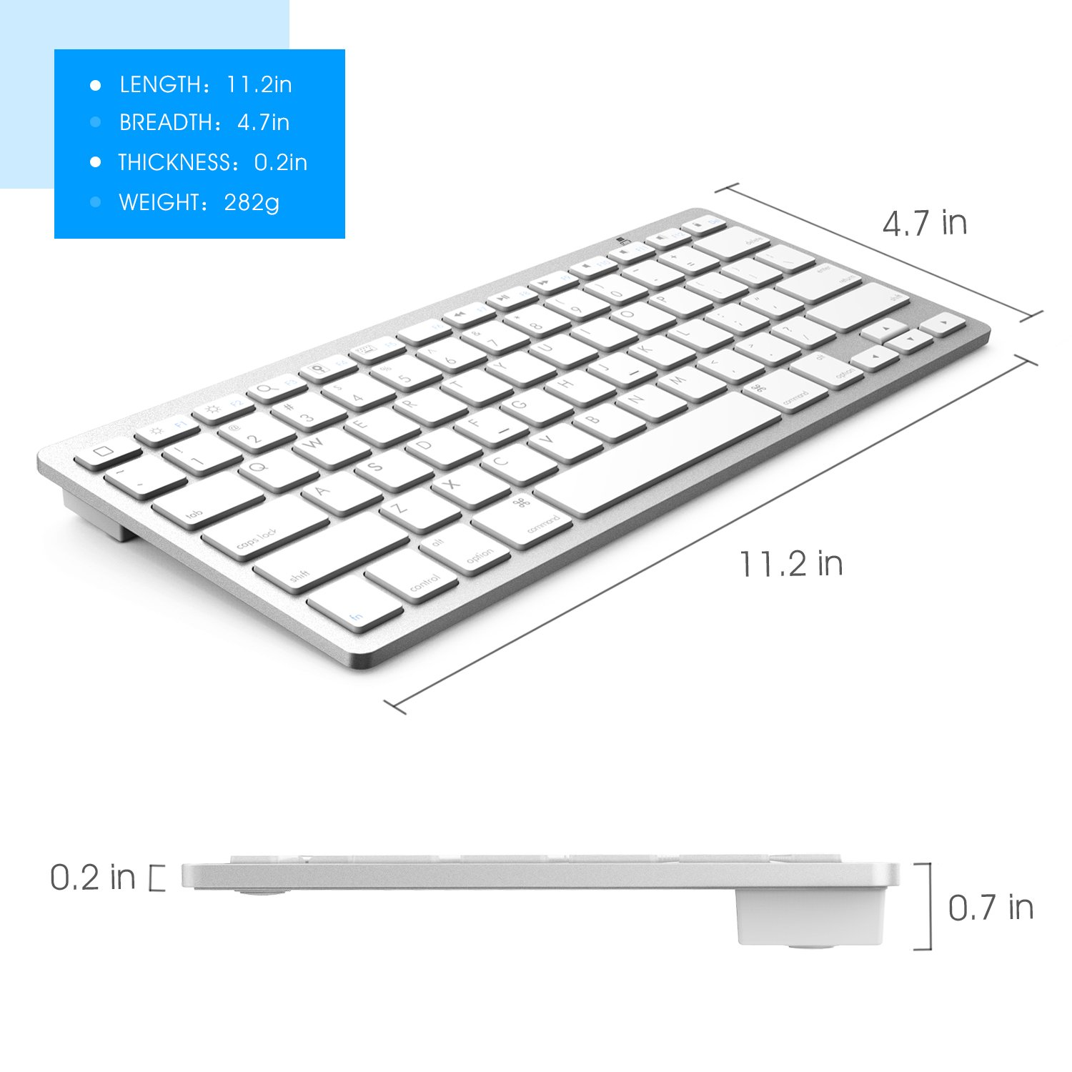 2f54d5338c2 Amazon.com: iPad Air Keyboard, OMOTON Slim Bluetooth Keyboard for iPad Air  3/2/1, iPad Mini 5/4/ 3/2/1, iPad 4/3/ 2, iPhone 6s/ 6s Plus/ 7/7 Plus and  Other ...