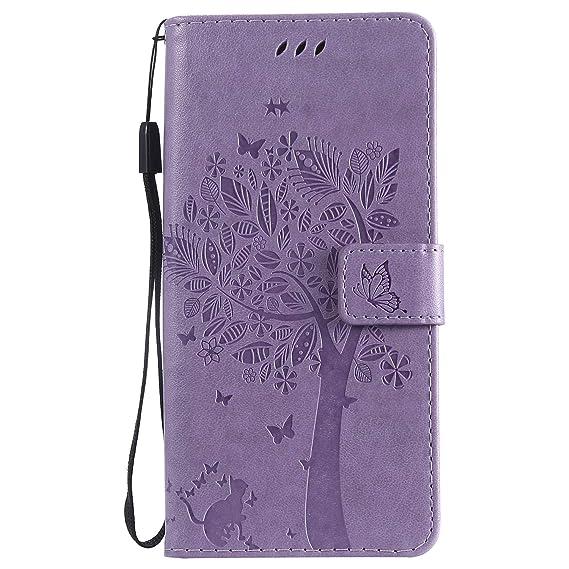 Amazon com: Moto G7 / G7 Plus Case, Lomogo Leather Wallet