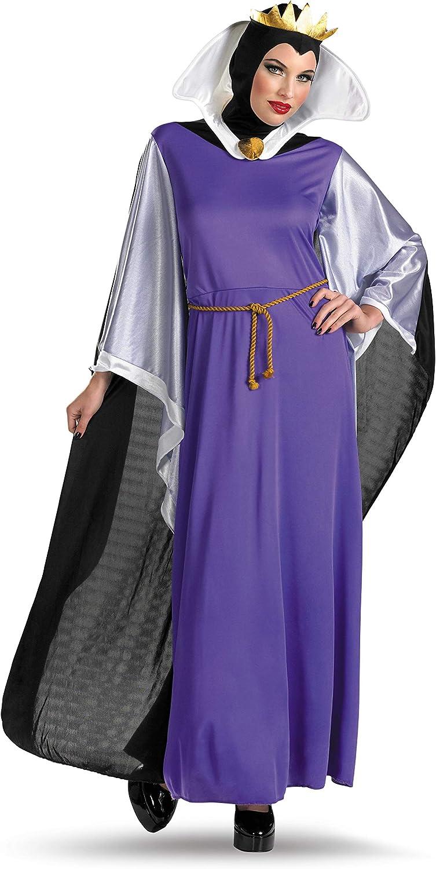 Disguise Women's Disney Snow White Evil Queen Deluxe Costume