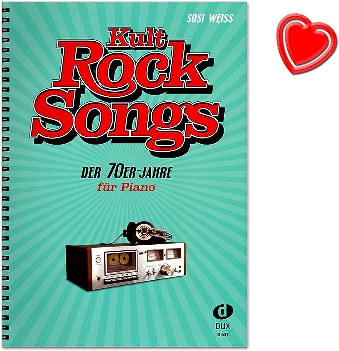 Kult-Rocksongs de los años setenta – 30 clásicos, arreglos para ...