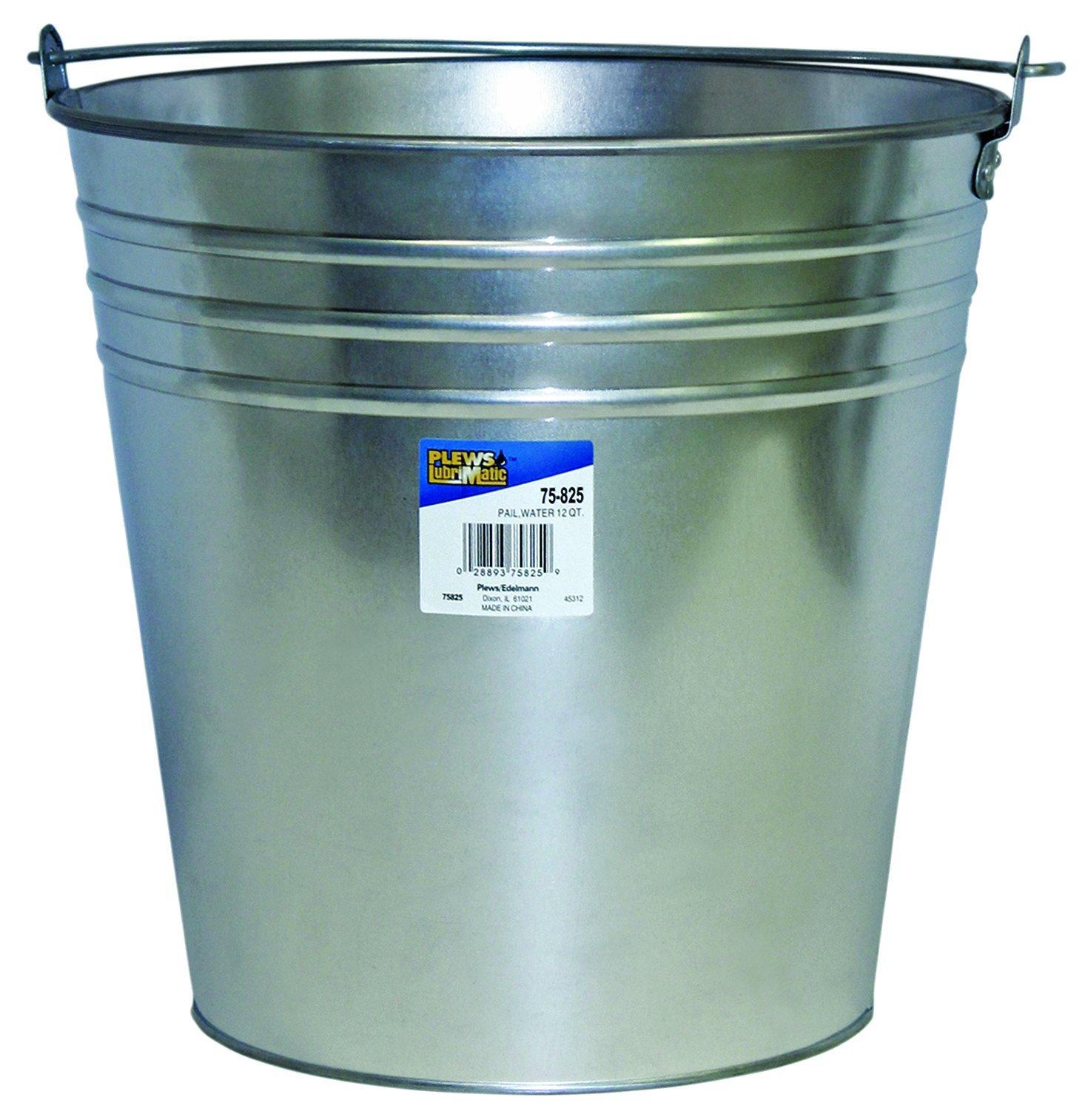 Plews 75-825 Galvanized Water Pail