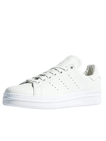 designer fashion 493b3 7e1e9 adidas Stan Smith Bold W Cloud White White White: Amazon.co ...