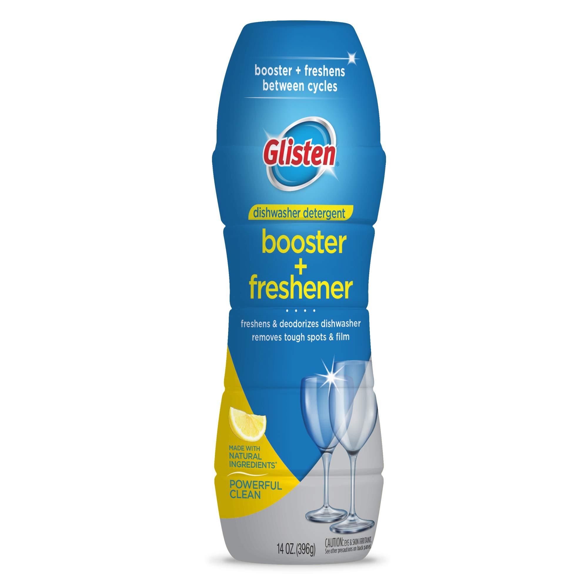 Glisten Detergent Booster + Freshener, 14 Oz., 6 Pack