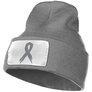 NZDIERWD - Gorro de Punto Unisex para concienciación del cáncer ...