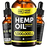 Hеmp Oil for Skin, Hair, Nails Health - Pure Extract Natural Oil Formula - Omega 3, 6, 9 Oil - Immunе System Optimizer - Phys