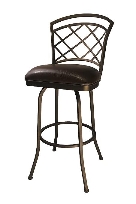 Amazoncom Callee Inc Baldwin Swivel Barstool 26 Inch Seat Height