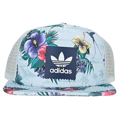 073e1a83a31 adidas Island Trucker Cap Hats Blue Multicolour - One Size  Amazon ...