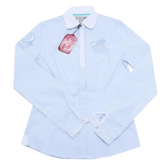 1735M camicia donna LA MARTINA manica lunga camicie shirts women: Amazon.es: Ropa y accesorios