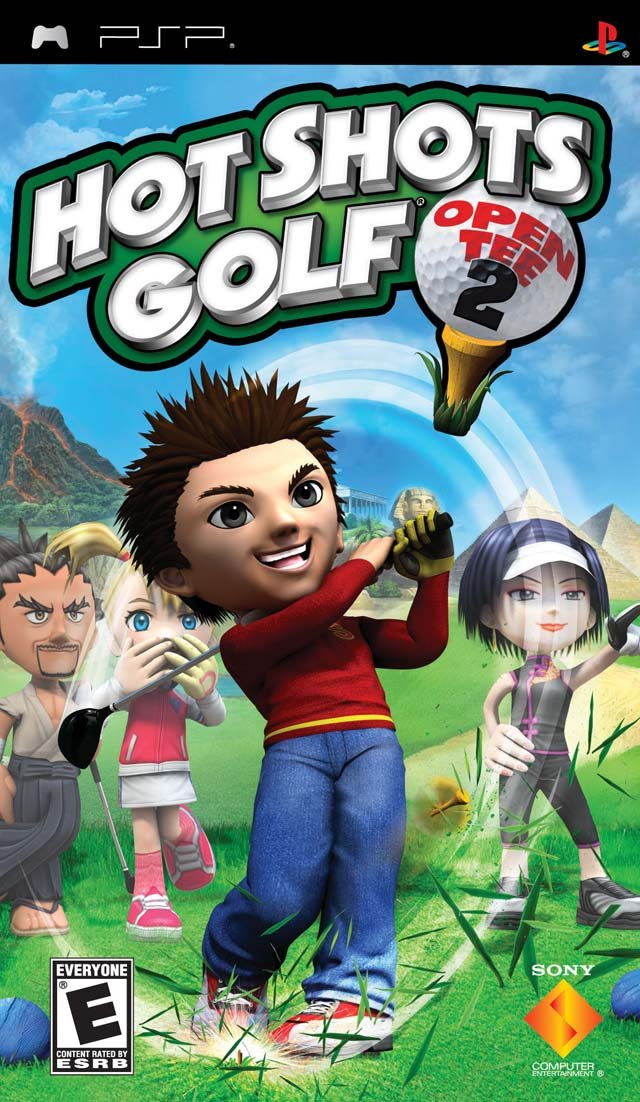 Hot Shots Golf: Open Tee 2 - Sony PSP