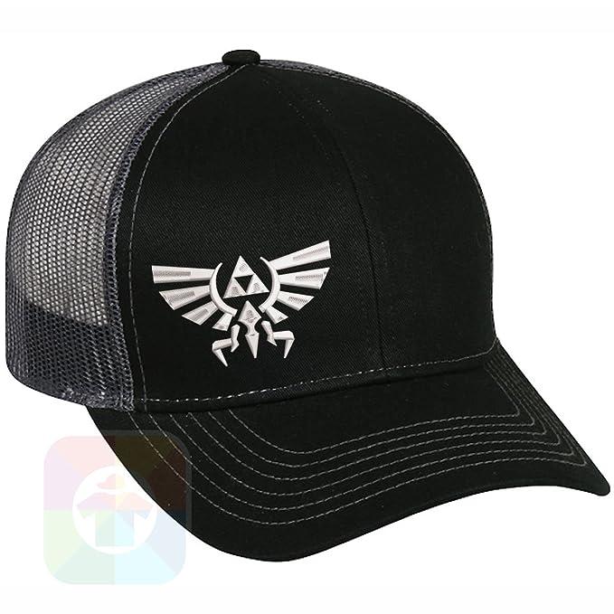 Custom Tshirts and Hats Zelda Logo Structured Snapback Baseball Mesh Hat  Cap #1075
