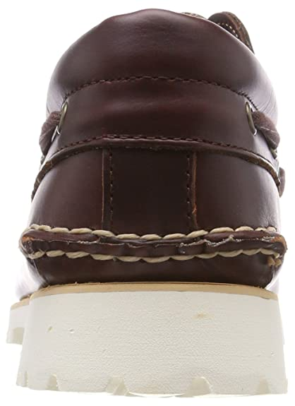 c1489388608c4 Timberland Men s s Chilmark 3-Eye Handsewn Moccasins  Amazon.co.uk  Shoes    Bags