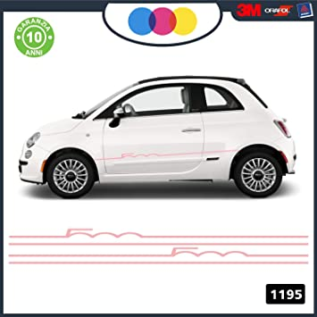 Abarth Tuning Band 1195 Car Adhesive Stickers Decal Accessory For