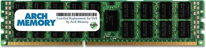 Arch Memory Replacement for Dell SNP20D6FC/16G A6994465 16 GB 240-Pin DDR3L ECC RDIMM Server RAM for PowerEdge R710