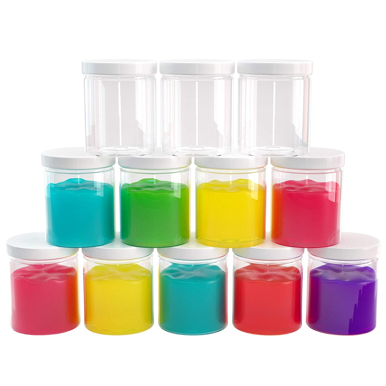 Slime Containers with Airtight Lids