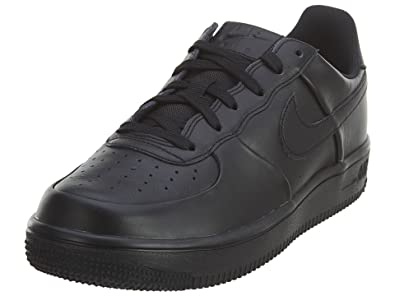 Nike Kinder Air Force 1 Ultra GS Schwarz Leder Sneaker, 40