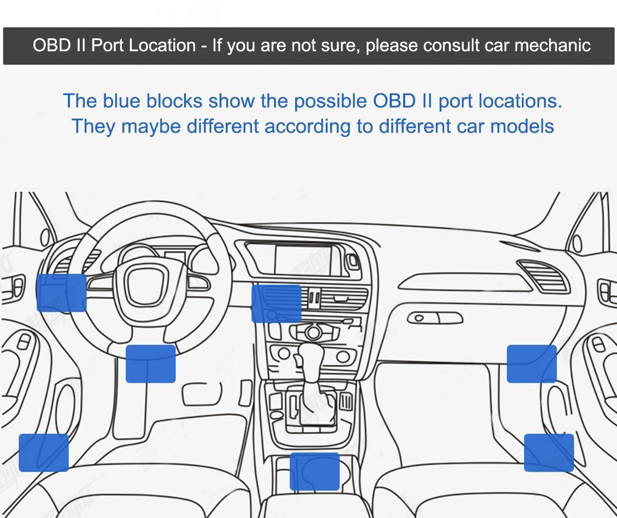 3M//11.5FT Wire 12-24V 16Pin OBD2 Connector Direct Link Charger for for Dash Cam Car DVR GPS EKYLIN OBDII Charging Cable Micro USB Power Adapter