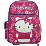 "Hello Kitty - Large 16"" Full-size Backpack - Flower Shop"