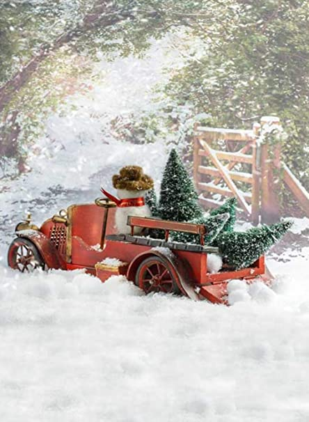 Country Christmas Background.Amazon Com Christmas Snowy Country Lane Photography
