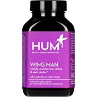 HUM Wing Man - Liver Detox Supplement - Silymarin Milk Thistle, Dandelion & Artichoke Leaf Support Healthy Liver…