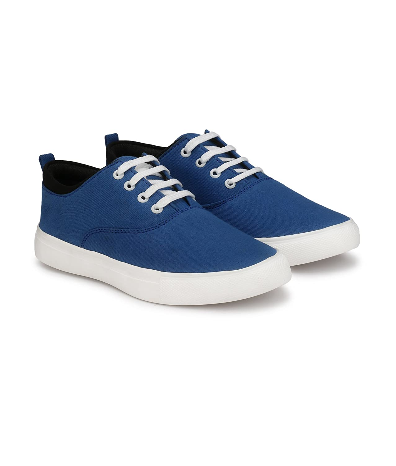 08bdfe5c0285d CEONA Men's Dark Blue Causual Shoes, Men's Dark Blue Casuals Shoe,Blue  Casual Shoes for Mens, Men's Casual Canvas Shoes in Blue, Colour,Shoes for  Mens ...