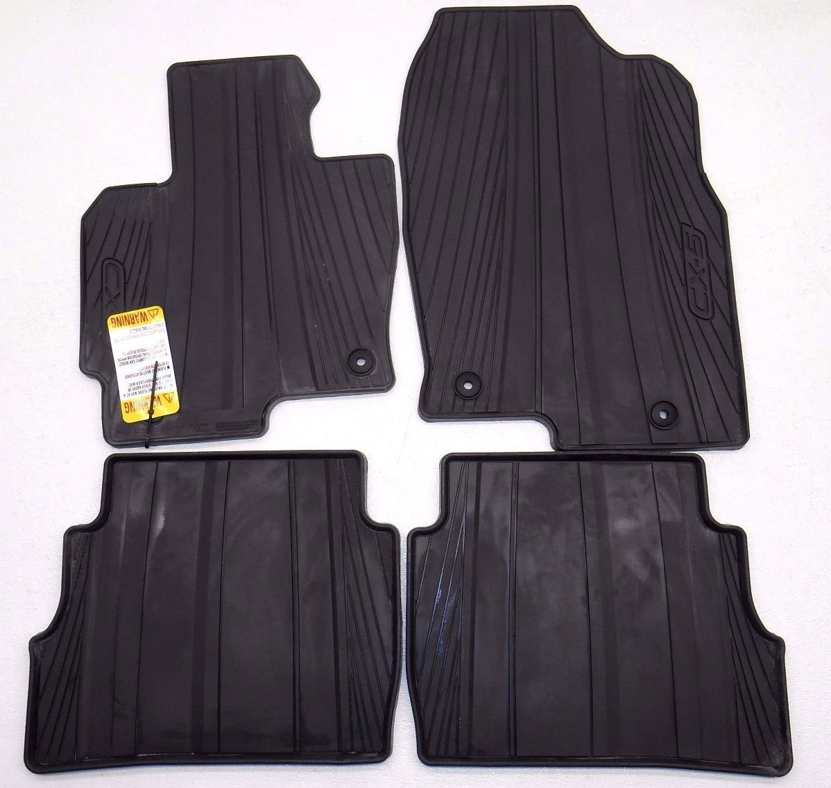 New OEM 2013-2015 Mazda CX-5 All Weather Floor Mats by Mazda (Image #1)