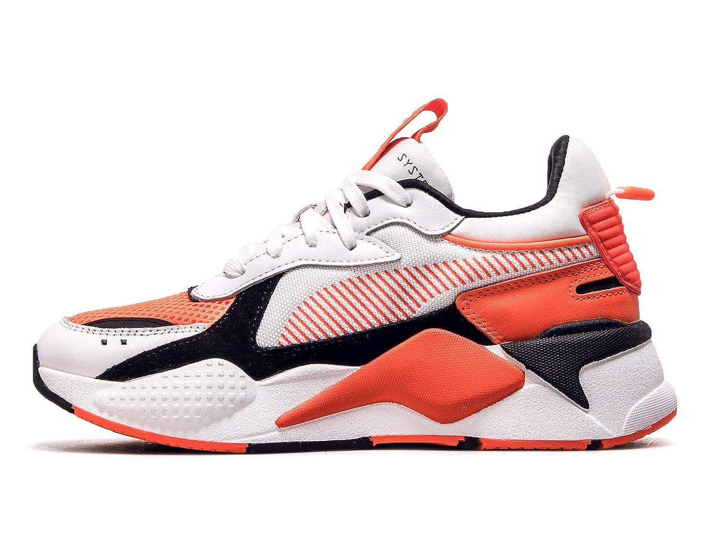 Puma Scarpe da Uomo Sneaker Rs X Reinvention 36957902 Bianco Arancione SS 2019