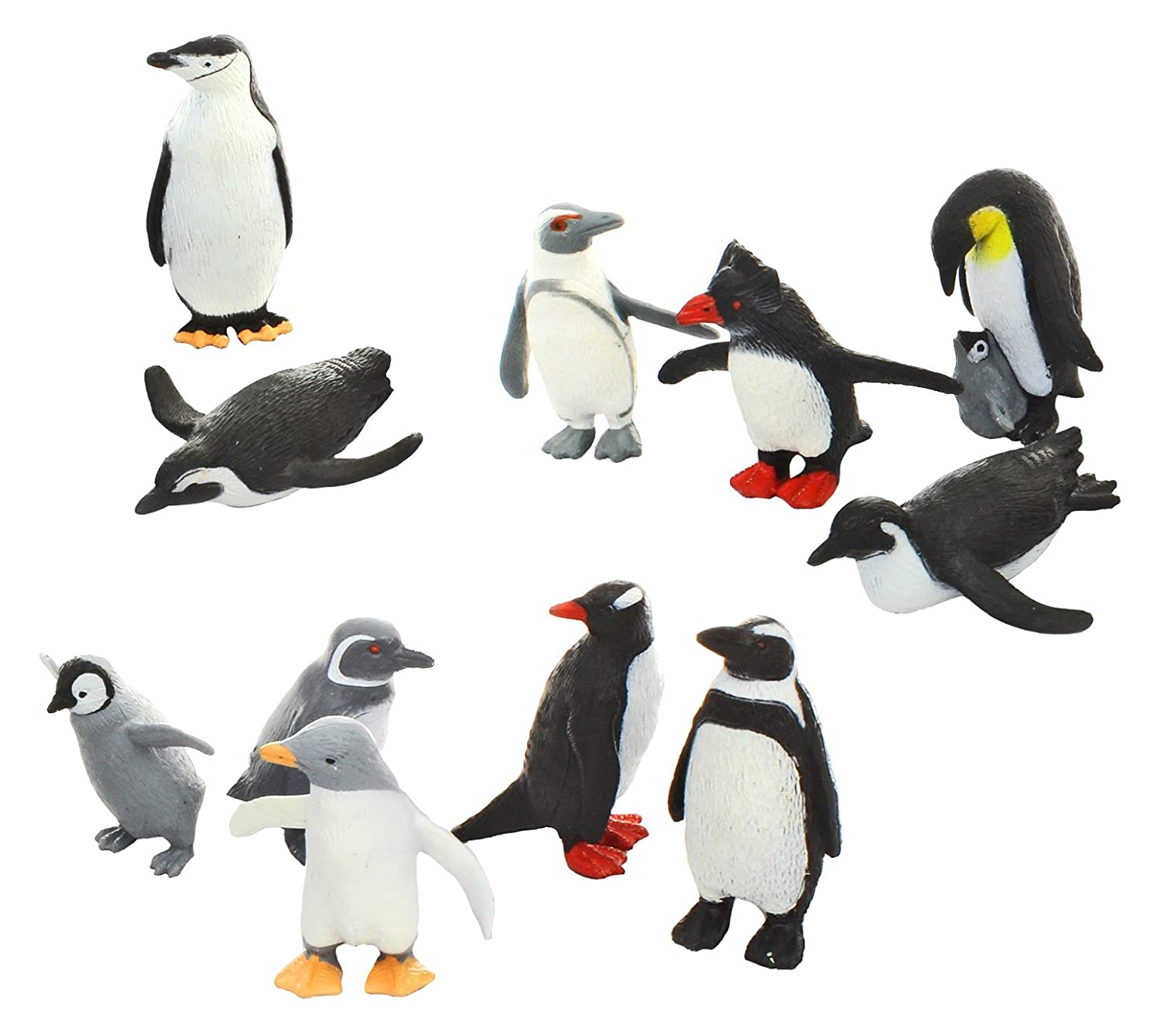 penguins figures for the classroom centers