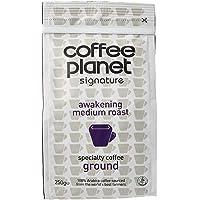 Coffee Planet Awakening Medium Roast Ground Coffee, 250g