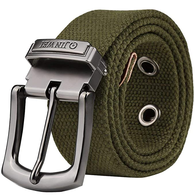 nueva estilos 633b0 ab976 HaiDean Cinturón De Lona Para Vaqueros Hombre Cinturón ...
