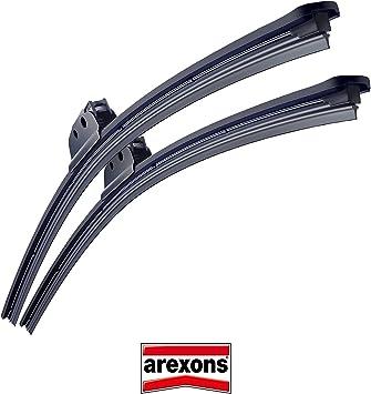 Arexons Flat Blade 8896-8889 Coppia kit spazzole tergicristallo