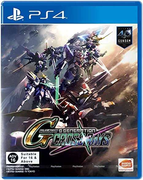 SD Gundam G Generations Crossrays (Inglés Subs) For Playstation 4 ...