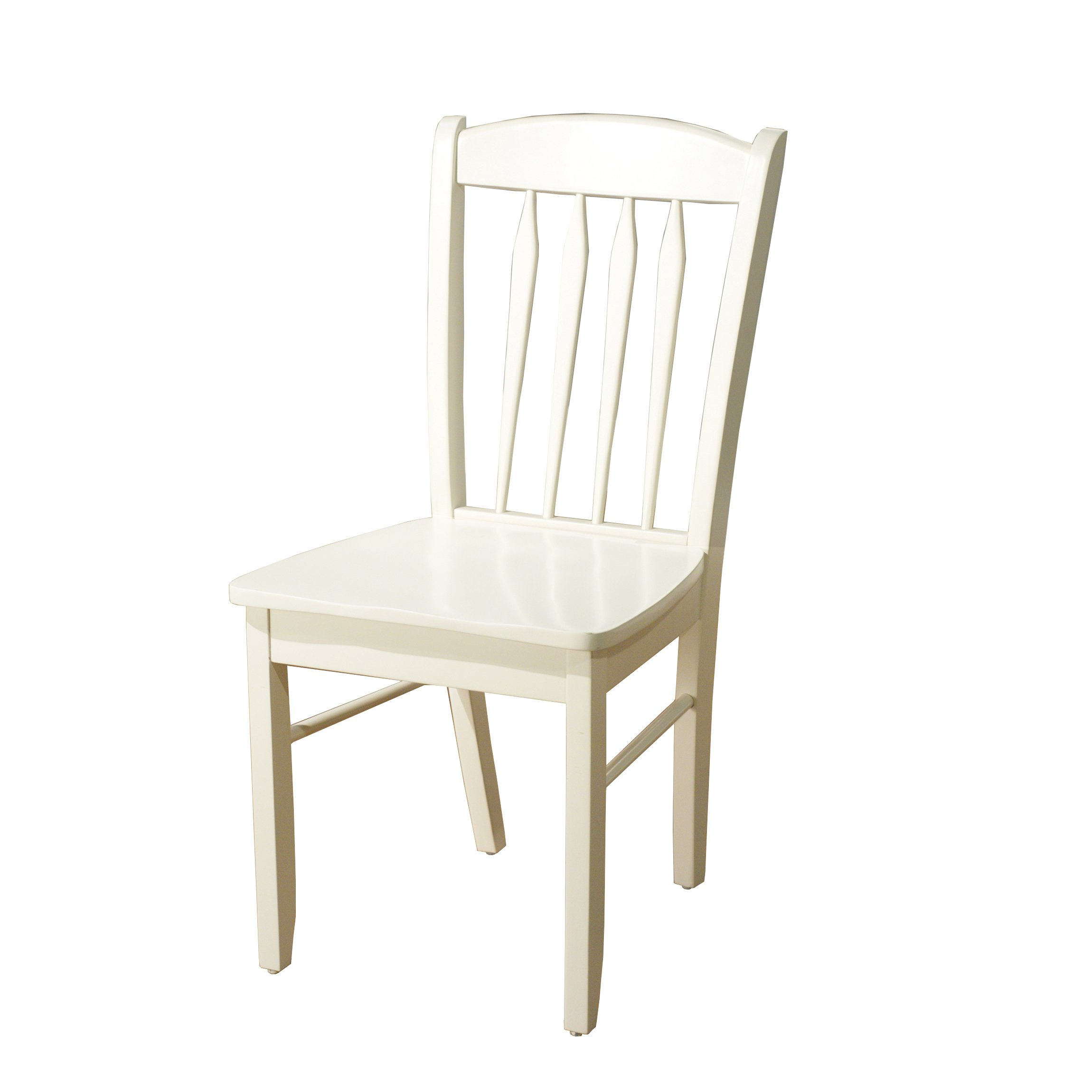 Target Marketing Systems 33418WHT Savannah Chair Dining, White