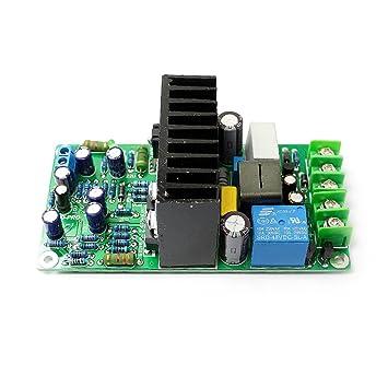 Q-BAIHE IRS2092 IRFB4019 Clase D Amplificador de Potencia Junta + Protección de Altavoz +