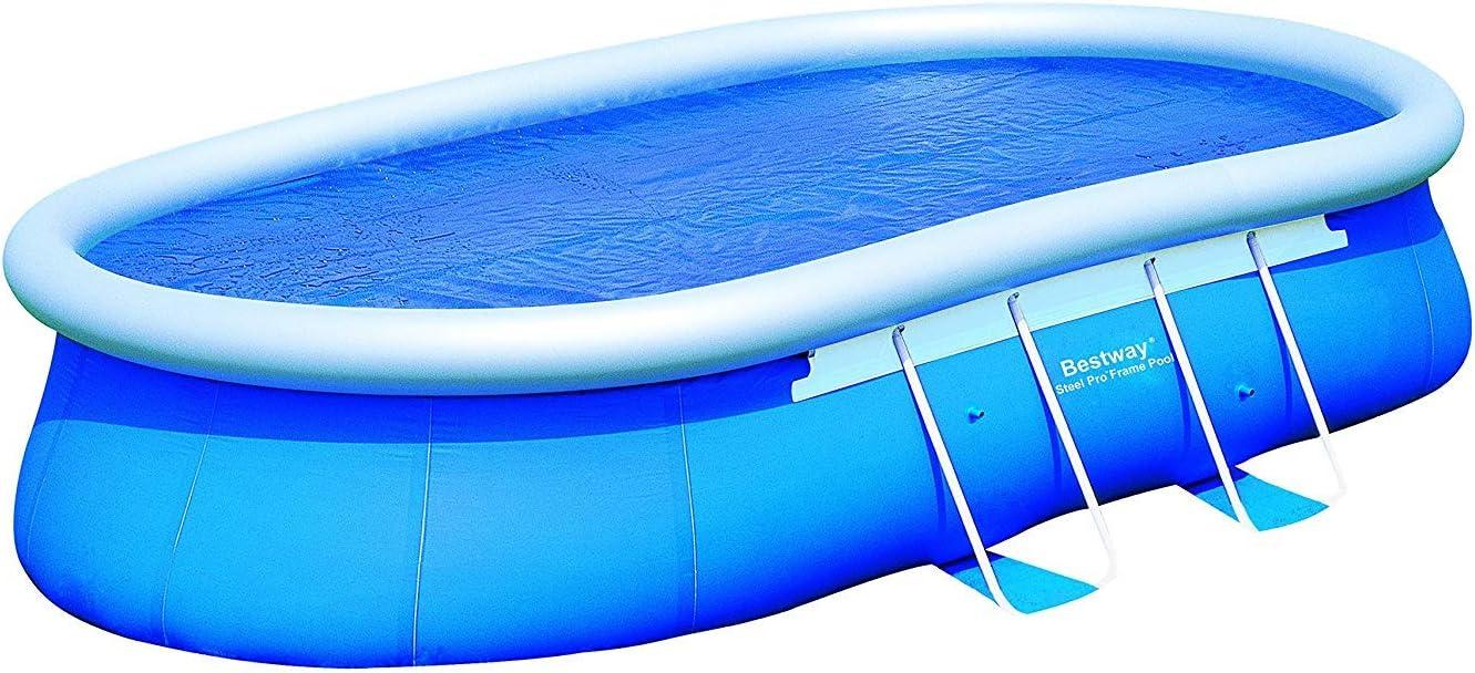 Bestway B Solar l 560 l 311 para Oval Fast Set Pools L 610 L 366 H 122: Amazon.es: Jardín
