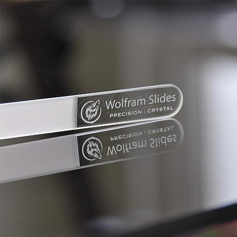 Diapositivas Wolfram precisión Wolfram: lima de uñas Crystal Pro, diseñada para guitarristas: Amazon.es: Instrumentos musicales