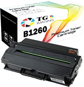 (1-Pack, Black) TG Imaging Compatible Toner Replacement for Dell B1260 331-7328 for Used in B1260dn, B1265, B1265dnf Printers