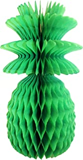 product image for 3-Pack Solid Colored 13 Inch Honeycomb Pineapple Party Decoration (Light Green)