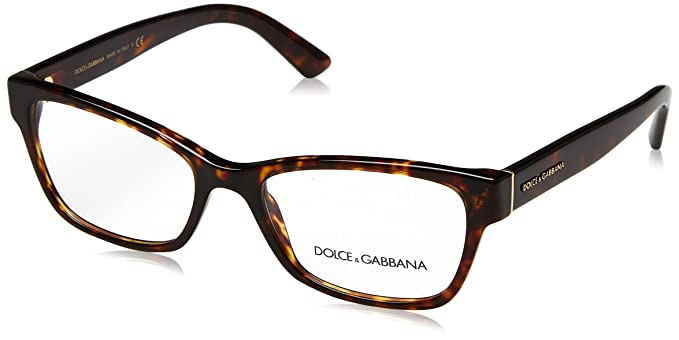 6c9303ff51ae Image Unavailable. Image not available for. Color  Eyeglasses Dolce   Gabbana  DG 3274 502 HAVANA