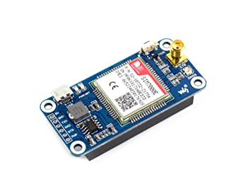 Waveshare NB-IoT eMTC Edge GPRS GNSS Hat for Raspberry Pi Zero W WH 2B 3B  3B+ Based on SIM7000E