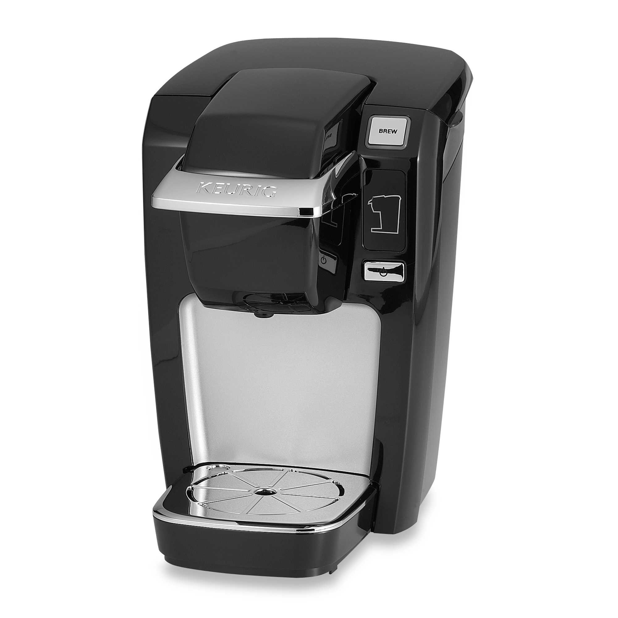 Compact Design Keurig® K10/K15 Brewing System Perfect for smaller spaces, dorms, offices, or vacation homes (Black)