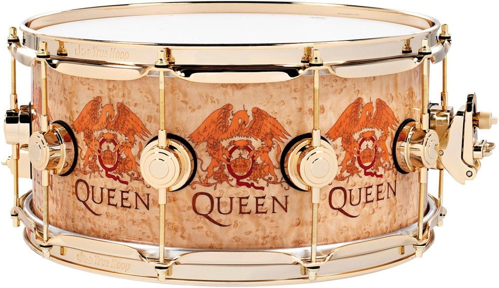 DW Collector's Series Queen Icon Snare 14 x 6.5 in. Gold Hardware