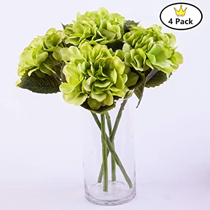 Amazon Com S Ena 6 Branch 30 Heads Artificial Silk Fake Flowers