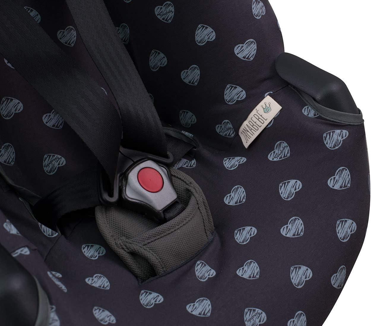 JANABEBE Funda para silla de auto BeSafe iZi Go Black Series