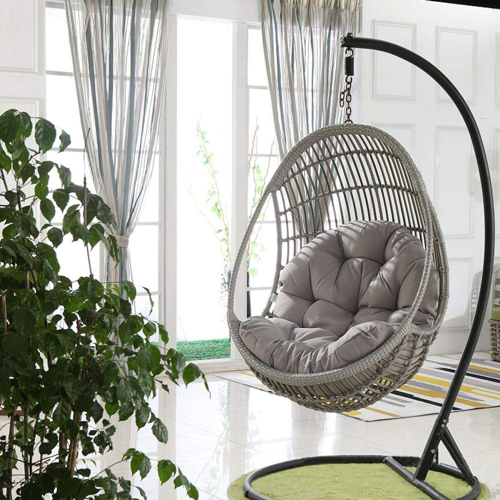Cosy Tt Swing Hanging Basket Seat Cushion Hanging Egg Hammock Chair Pads Swing Seat Cushion Thick Nest Hanging Chair For Indoor Outdoor Patio Yard Garden Buy Online In India At Desertcart