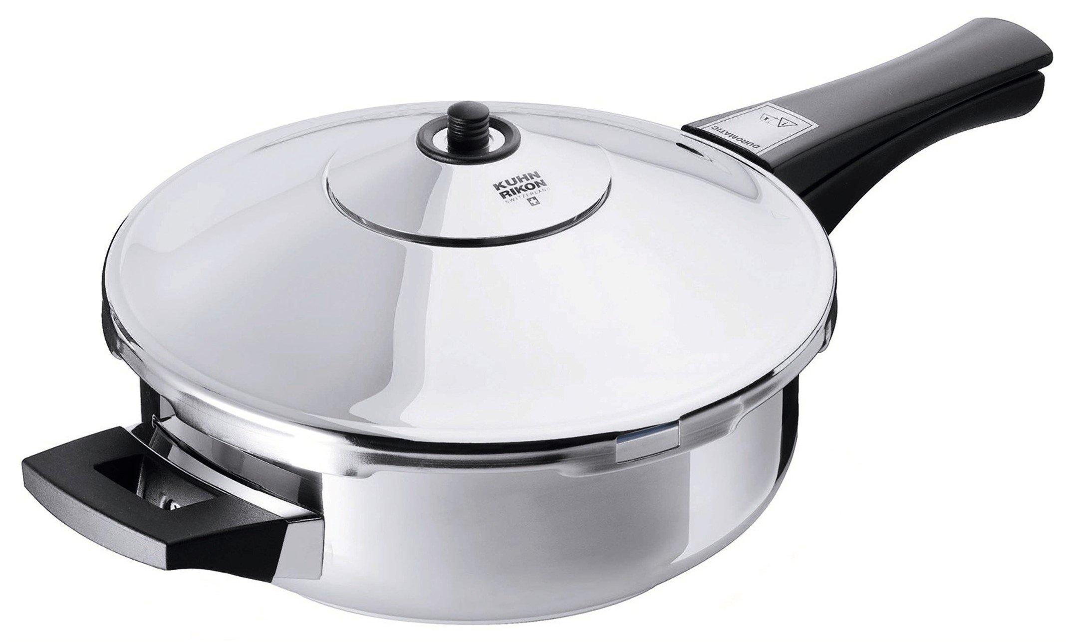 Kuhn Rikon Duromatic Energy Efficient Pressure Cooker - Frying Pan