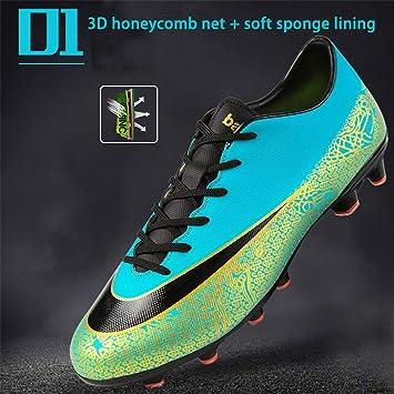 Botas de Fútbol Zapatos de Entrenamiento Zapatos de Fútbol Botines de Fútbol Botas de Fútbol Profesionales Zapatos de Fútbol Hombres Botas Deportivas de Fútbol Zapatos de Fútbol para Niños Botas de F: